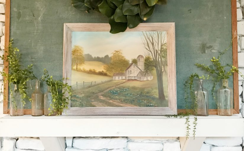 Thrift Painting Makeover