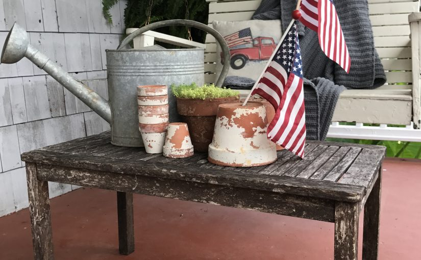 Front Porch Decor – 4th of July