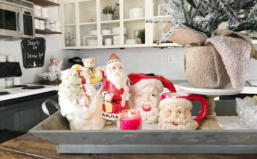 Santa Mug Collection