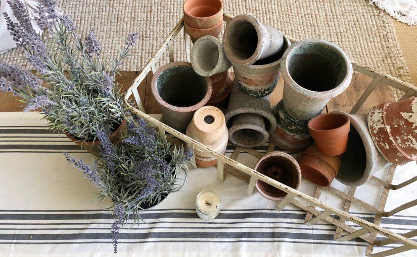 Styling Terra Cotta Pots