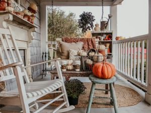 It's Fall on the Porch