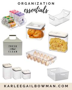 Kitchen Organization Essentials
