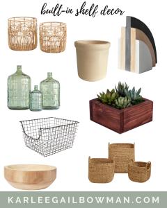 Built-In Shelf Decor Ideas