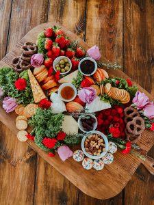Valentine's Charcuterie Board