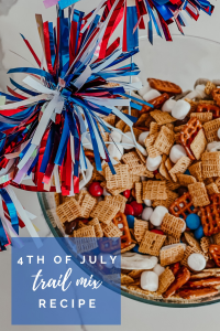 Fourth of July Trail Mix